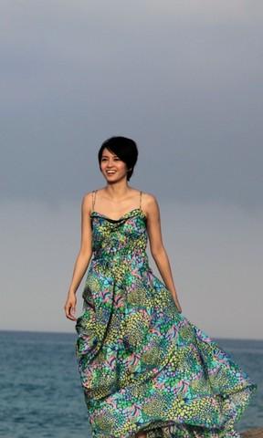 叶梓萱壁纸 韩国车模林智慧高清壁