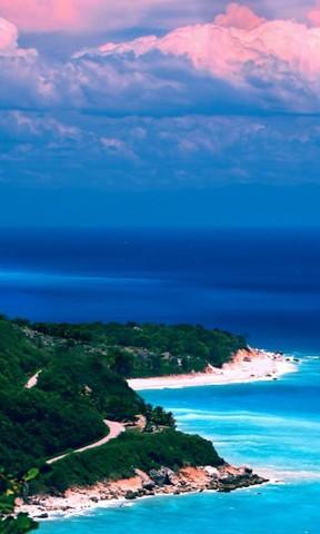 【多米尼加海景手机壁纸】多米尼加海景手机壁纸免费