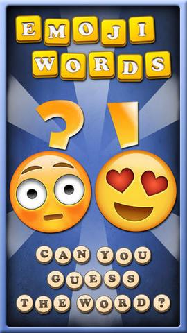 你能猜出表情符代表的词语吗?