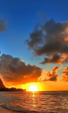 看海观日出手机壁纸