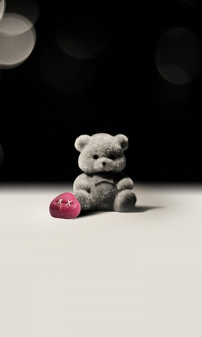 【孤单小熊手机壁纸】孤单小熊手机壁纸免费下载