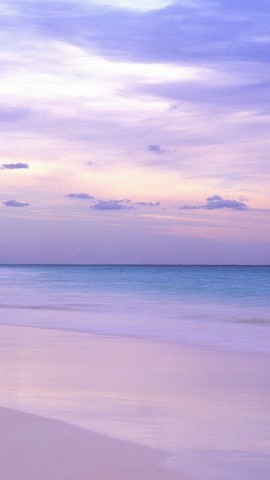 【紫色的海灘手機壁紙】紫色的海灘手機壁紙免費下載_手機中國;