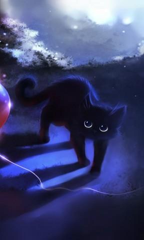 梦幻小猫手机壁纸