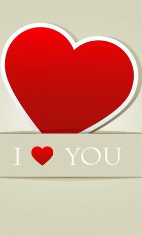 i love you手机壁纸