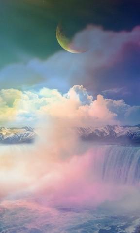 高清唯美手机壁纸 自然山水景色手机壁纸 iphone 5c高清风景壁纸 樱花