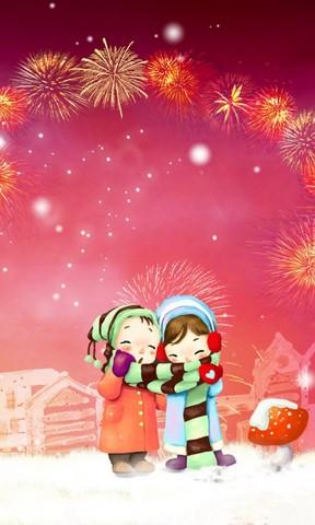 【新年的温暖手机壁纸】新年的温暖手机壁纸免费下载