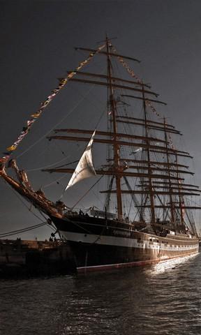 经典唯美风景高清手机 高清风景安卓手机壁纸  码头帆船手机壁纸 简介