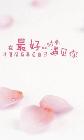 蝴蝶結飾品手機壁紙 冰淇淋杯手機壁紙 勵志文字手機壁紙 非主流情侶
