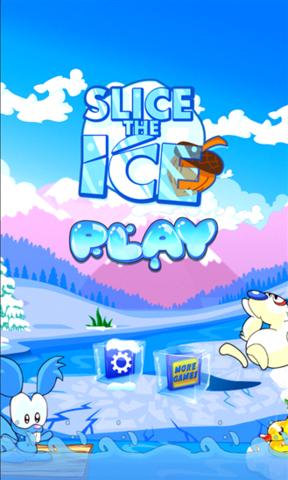 卡通冰块小贴士框
