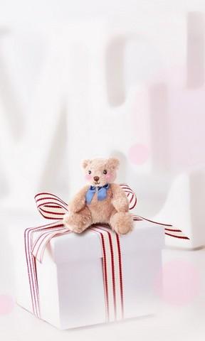 【可爱玩具熊礼物手机壁纸】可爱玩具熊礼物手机壁纸