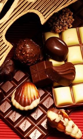 情人节巧克力手机壁纸