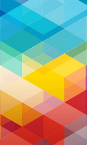 绚丽的色彩手机壁纸