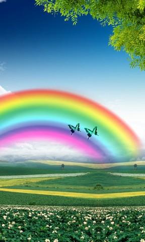【唯美彩虹手机壁纸】唯美彩虹手机壁纸免费下载