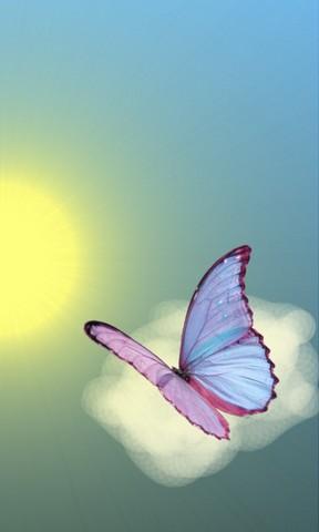 儿童画飞向蓝天