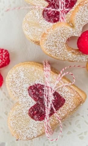 爱心双色夹心饼干#柏翠辅食节-烘焙零食