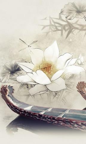 【中国风端午赛龙舟手机壁纸】中国风端午赛龙舟手