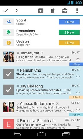 谷歌邮箱Gmail_pic1