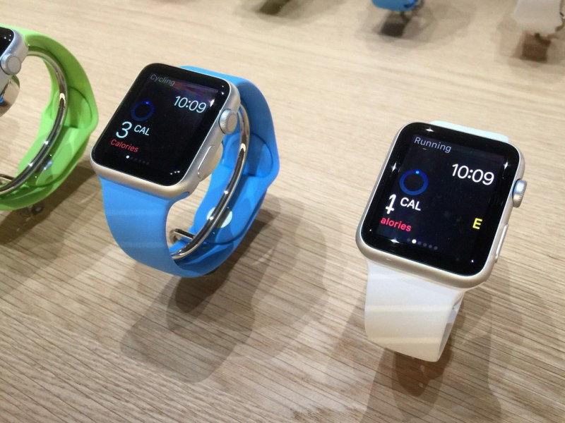 苹果apple watch智能手表高清图