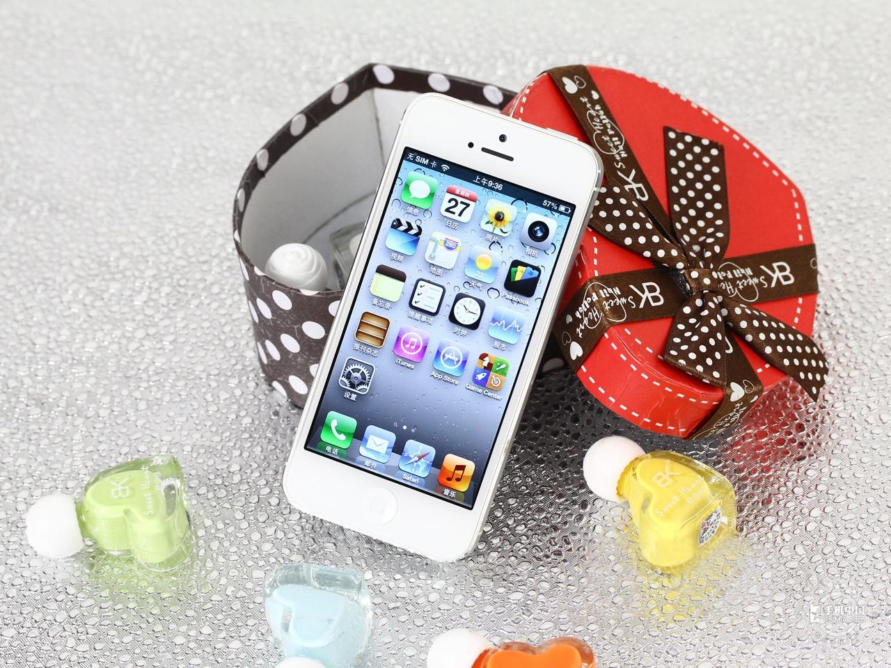 苹果iPhone5(16GB)整体外观第4张