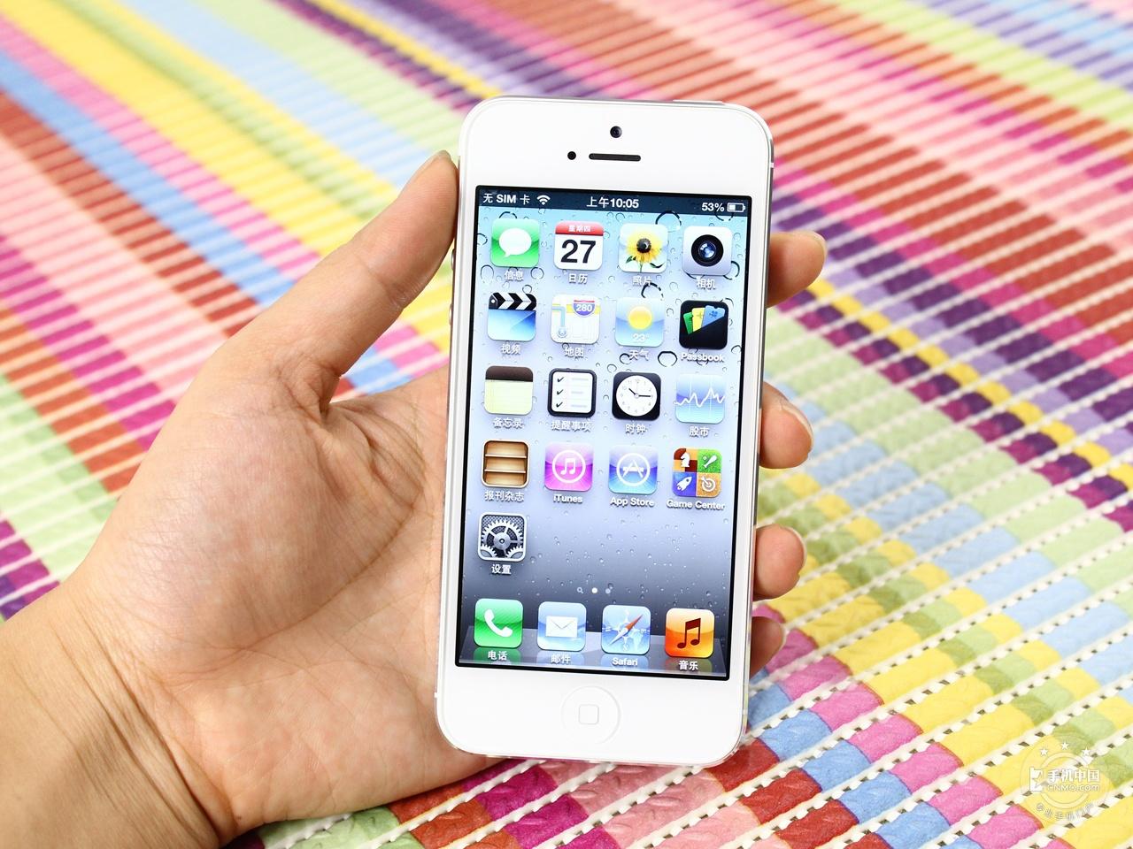 苹果iPhone5(16GB)整体外观第2张