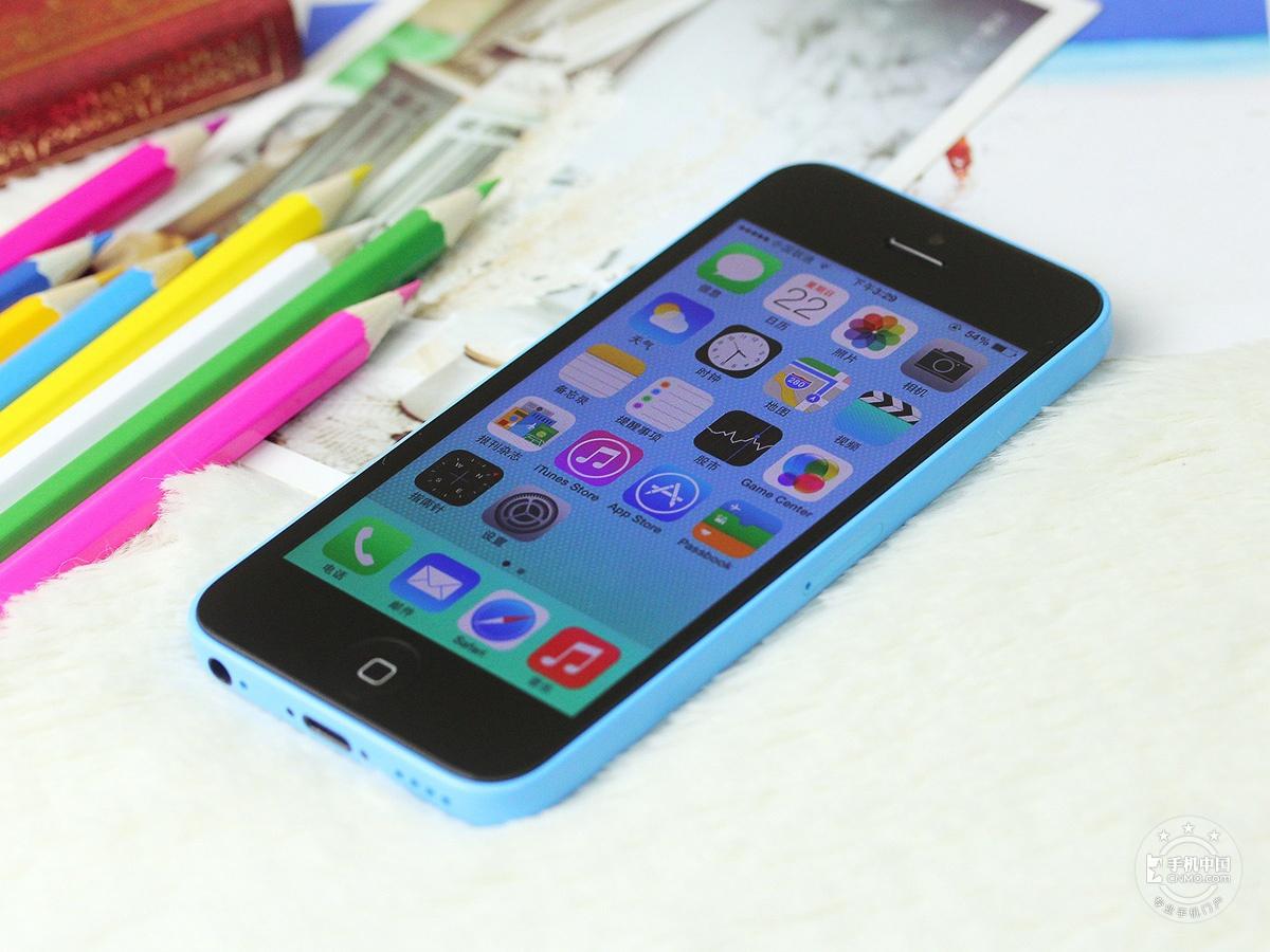 苹果iPhone5c(8GB)整体外观第6张