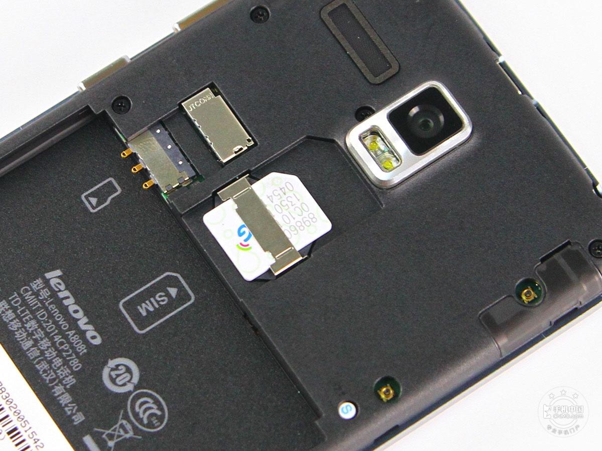 联想黄金斗士A8(联通4G版)机身细节第4张