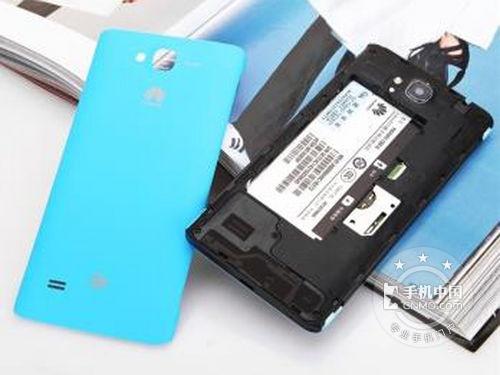 图为:华为c8816d( 电信版 )手机背面