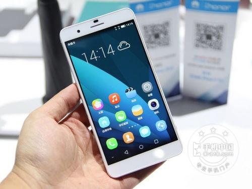 华为荣耀6Plus 双4G版金色2630赠送钢化膜+保护套+手机支架