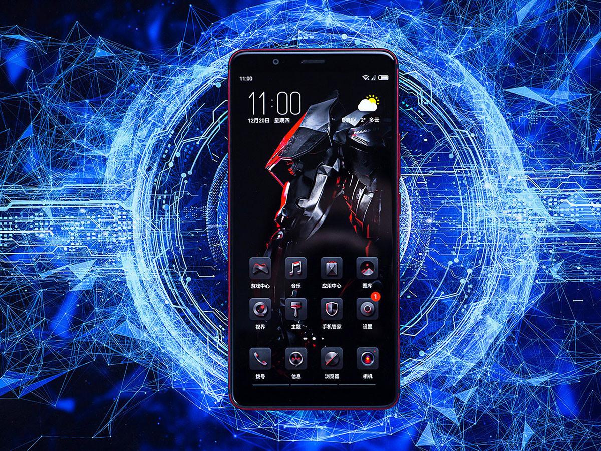 努比亚红魔Mars电竞手机(256GB)整体外观第2张