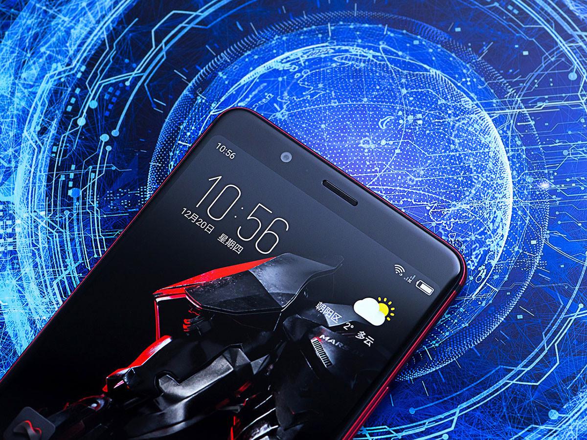 努比亚红魔Mars电竞手机(256GB)机身细节第1张