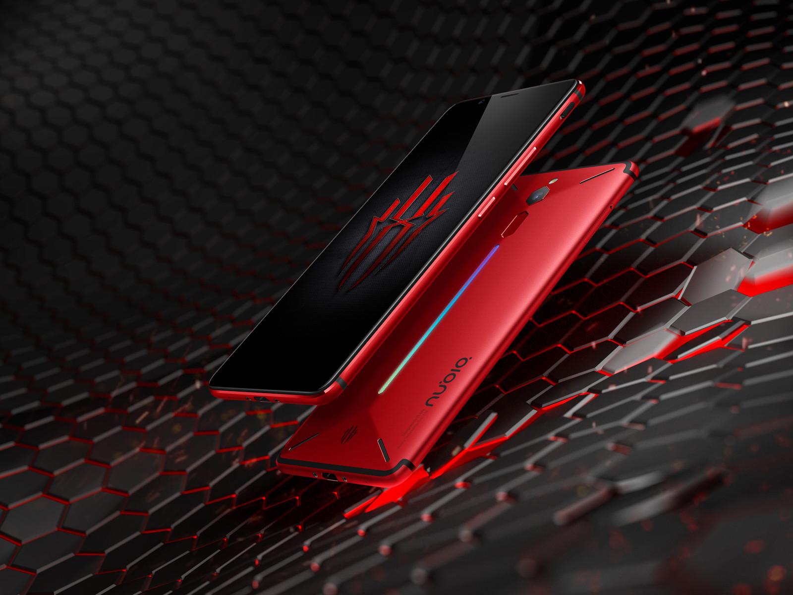 努比亚红魔电竞游戏手机(64GB)整体外观第4张