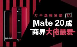 万千选择独爱TA Mate 20成商界大佬最爱