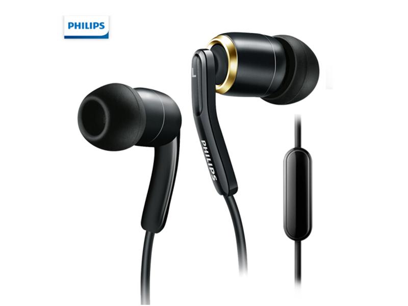 飞利浦(PHILIPS)手机耳机 耳麦 入耳式 低音线控 HiFi SHE9735