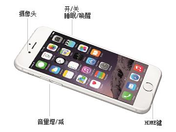 苹果iphone 6 plus 64gb接口与按键