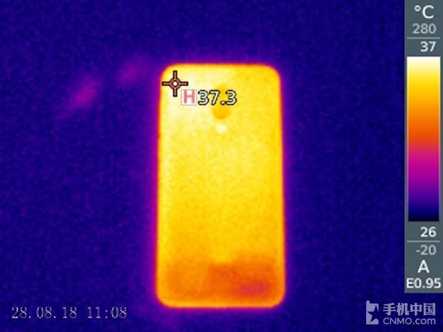 魅族16th(6+64GB)发热测试