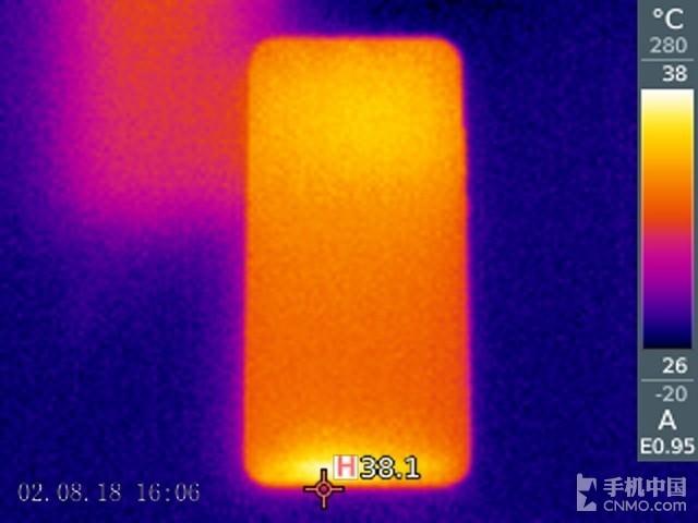 华为nova 3(64GB)发热测试