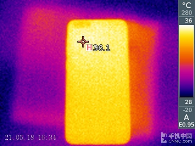 36088必发官网N7(64GB)发热测试