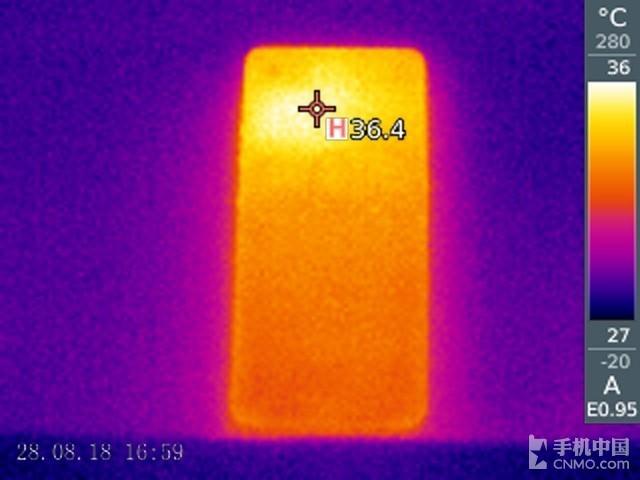 坚果Pro 2S(6+64GB)发热测试