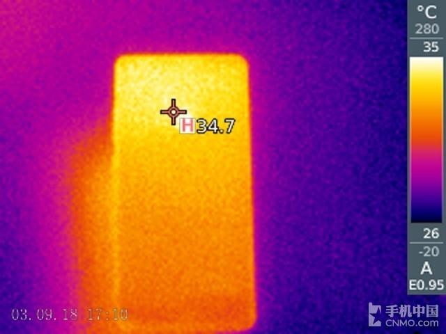 360手机N7 Pro(64GB)发热测试