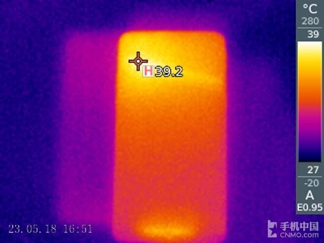 魅族15 Plus(标准版)发热测试