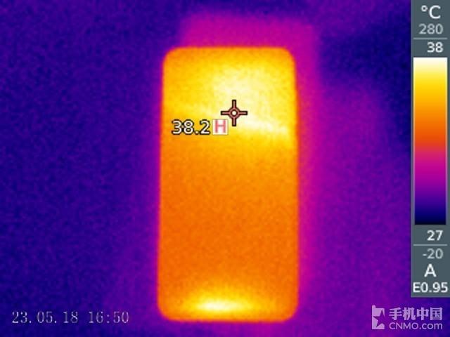 Nokia X6(32GB)发热测试