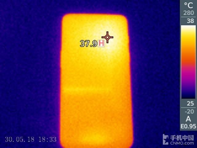 一加手机6(64GB)发热测试