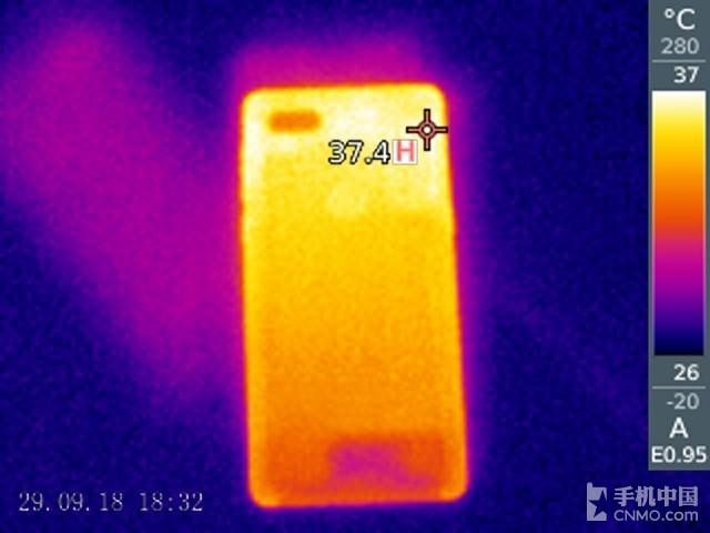努比亚Z18(64GB)发热测试