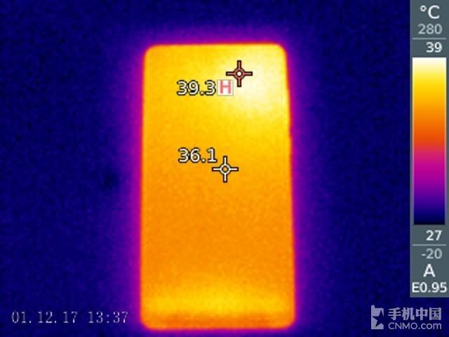 小米MIX 2(尊享版)发热测试